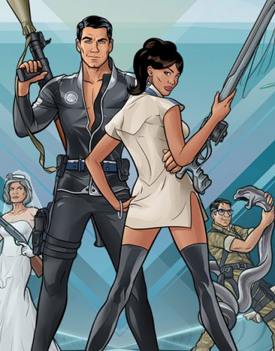 Archer tv series Poster