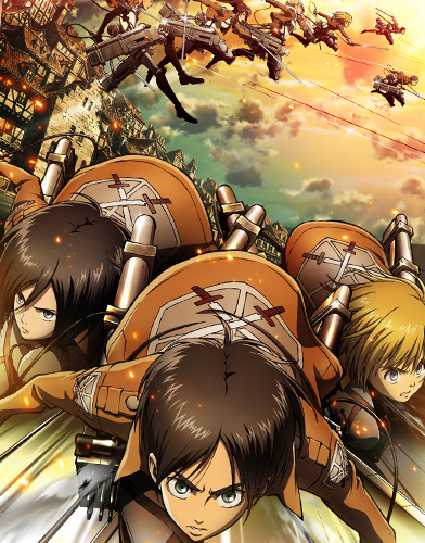 Attack on Titan season 1 Poster