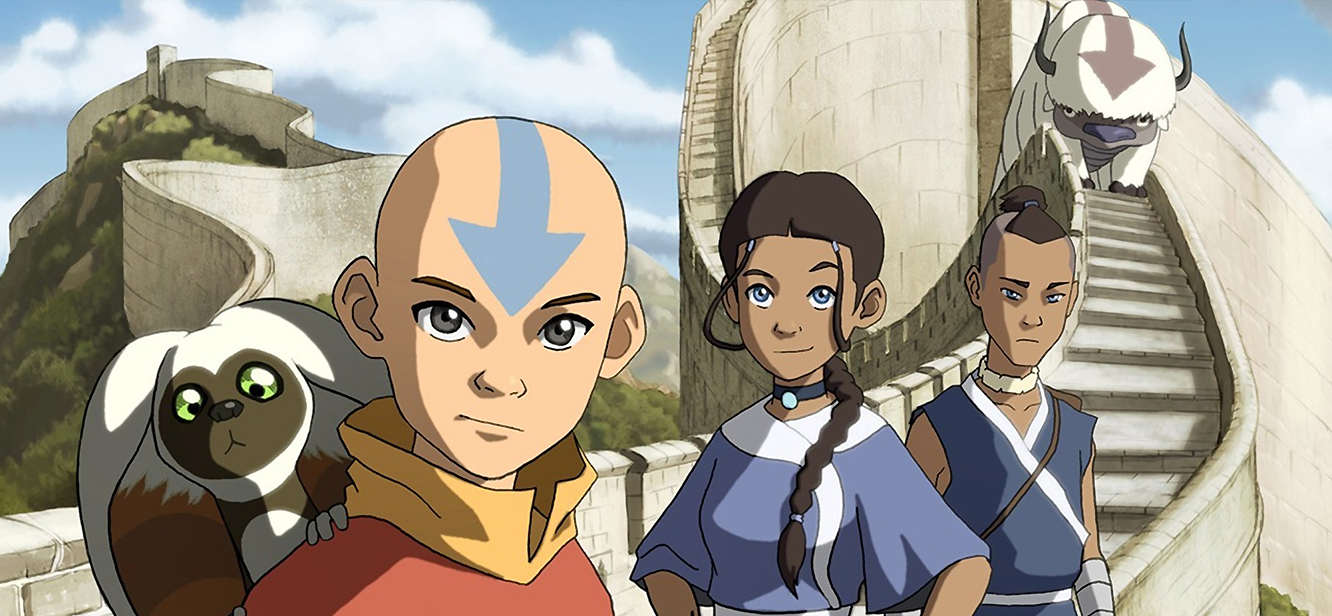 Avatar The Last Airbender tv series Poster