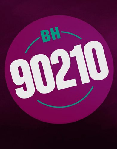 BH90210 tv series poster