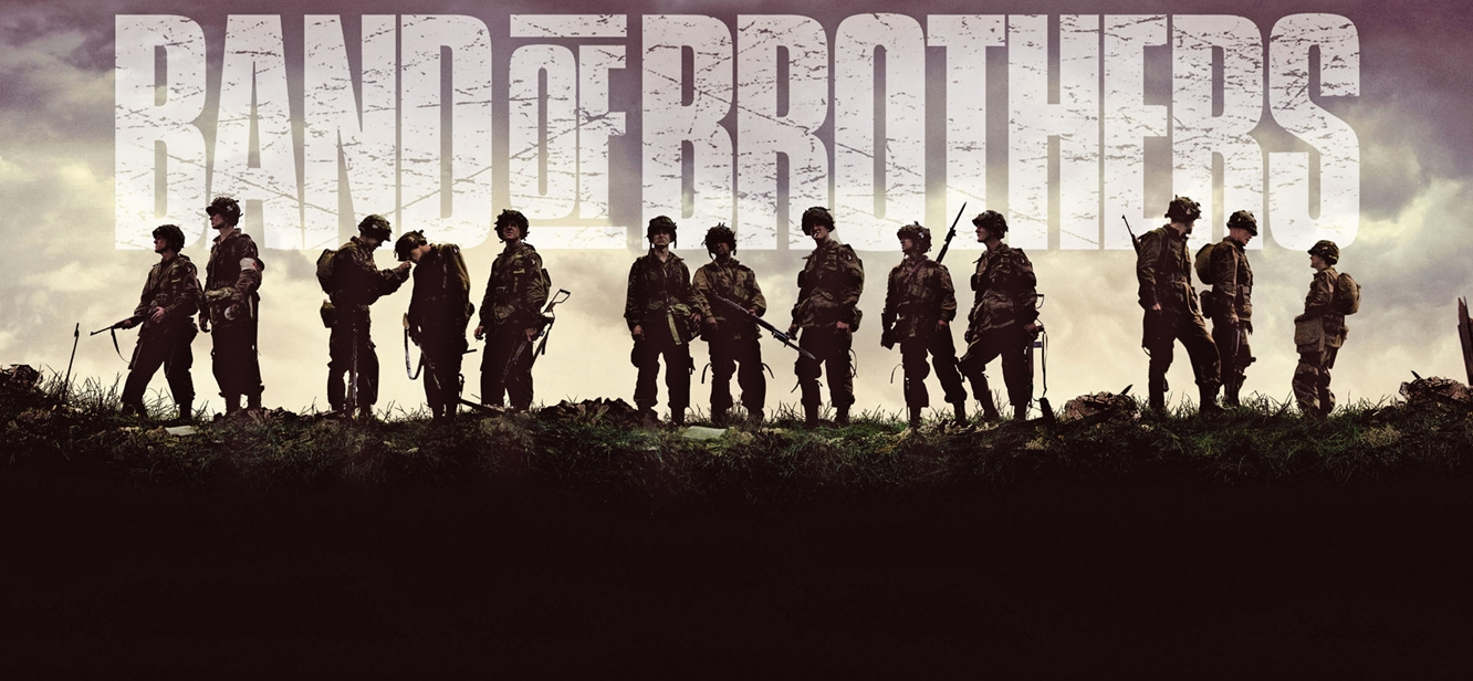 Band of Brothers tv series poster