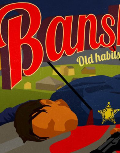Banshee tv series Poster