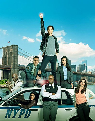 Brooklyn Nine Nine season 5 Poster