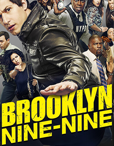 Brooklyn NineNine season 6 poster