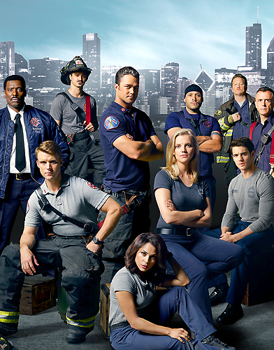Chicago fire season 4 poster