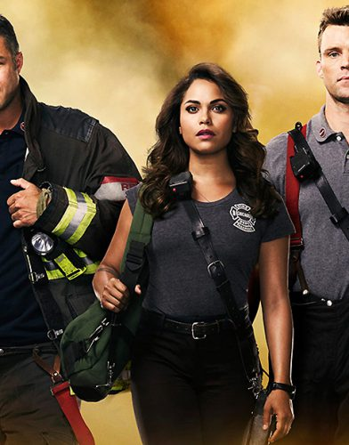 Chicago fire tv series poster