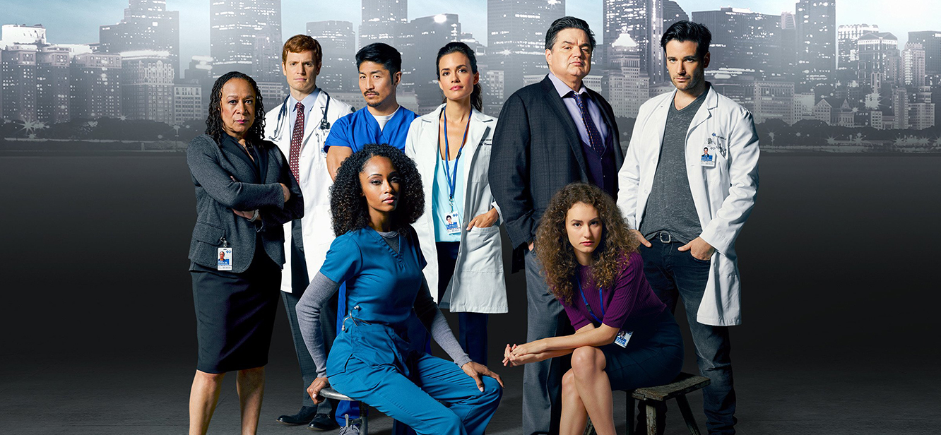 Chicago med tv series poster