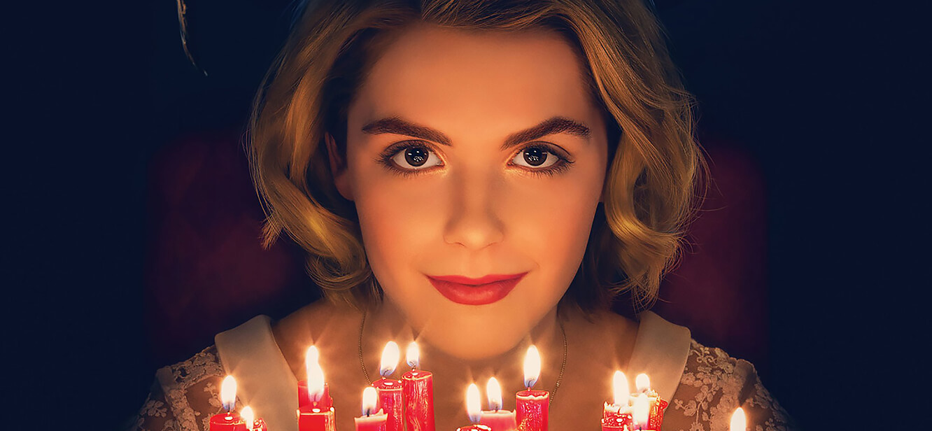 Chilling Adventures of Sabrina tv series poster