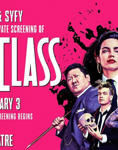 Deadly Class tv series poster
