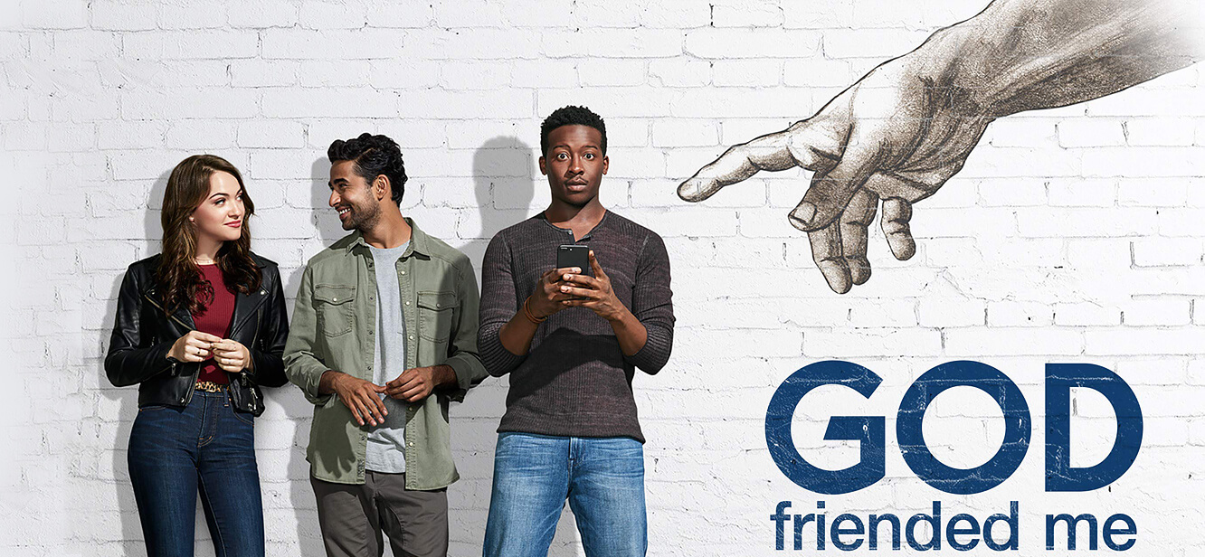 God friended me tv series poster
