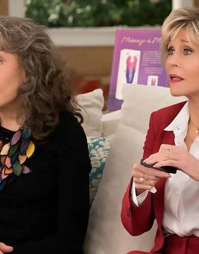 Grace and Frankie tv series poster
