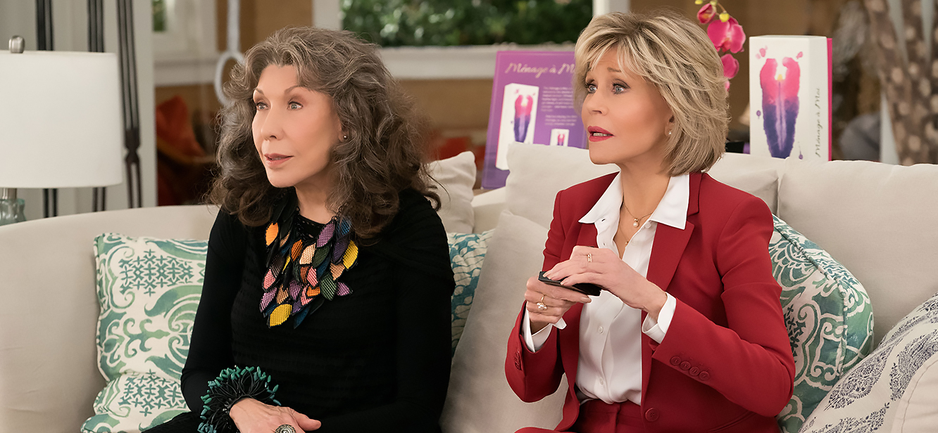 Grace and Frankie Season 6 tv series Poster