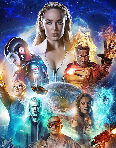 Legends of Tomorrow season 4 poster