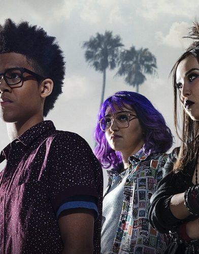Marcvel runaways tv series poster