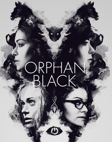 Orphan Black tv series Poster