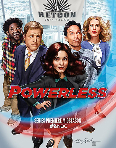 Powerless Season 1 Poster