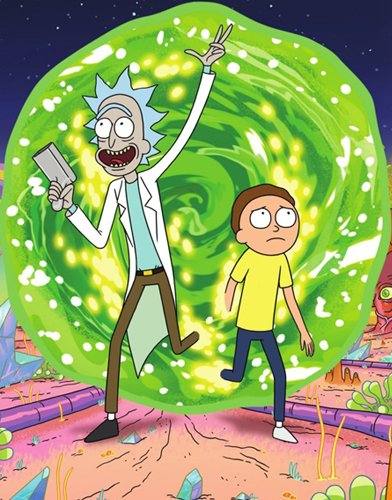 Rick and Morty season 1 Poster