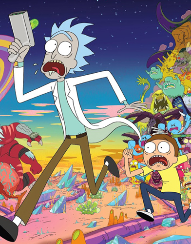TV Show Rick and Morty Season 2  Today's TV Series  Direct