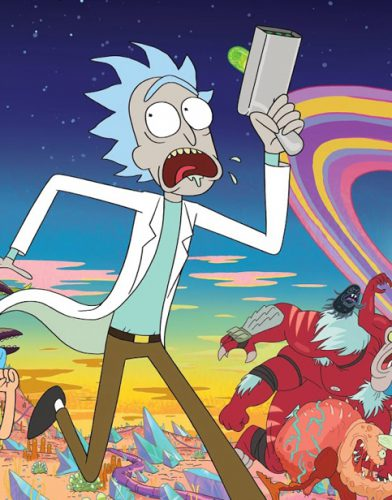 Rick and Morty tv series poster
