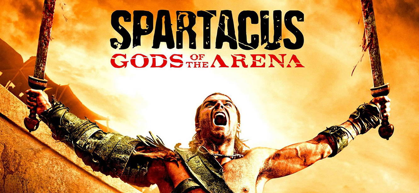 Spartacus Gods of the Arena tv series Poster