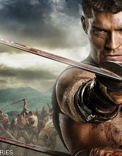 Spartacus tv series Poster
