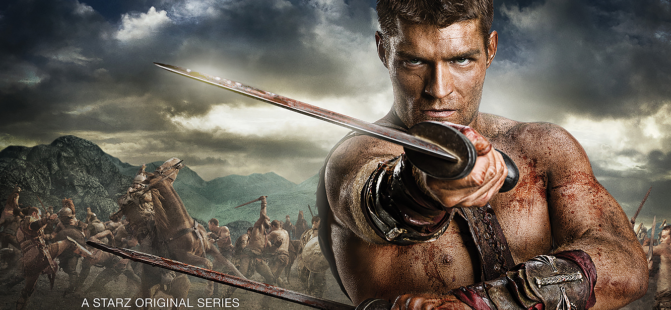 Spartacus: Blood and Sand Season 1 tv series Poster