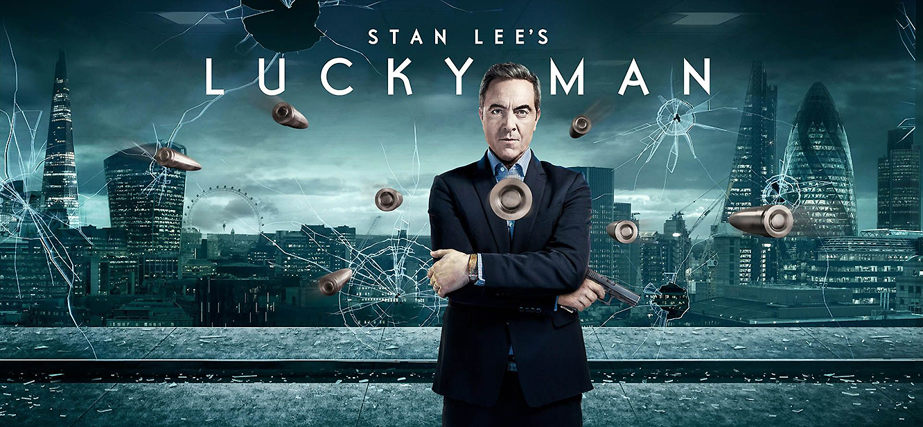 Stan Lee's Lucky Man Season 1 tv series Poster