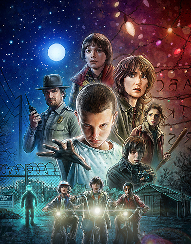 Stranger Things Season 1 Poster