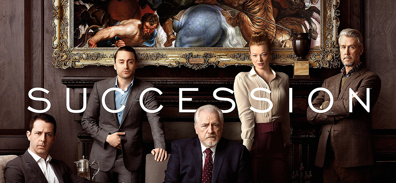 Succesion tv series poster