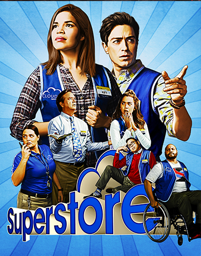 Superstore season 4 poster