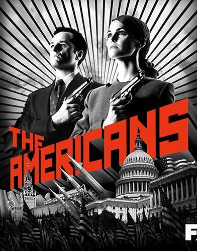 The Americans season 1 Poster