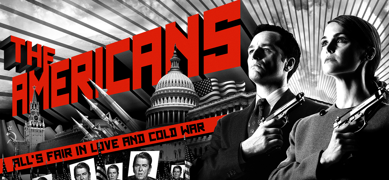 The Americans tv series Poster