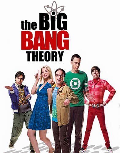 The Big Bang Theory season 2 poster