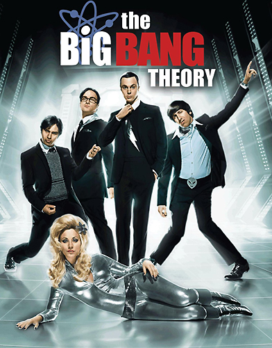 The Big Bang Theory season 4 Poster