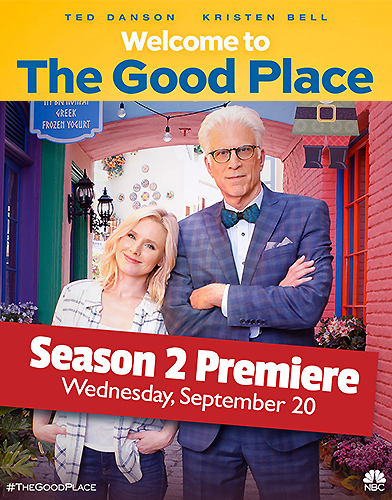 The Good Place Season 2 poster
