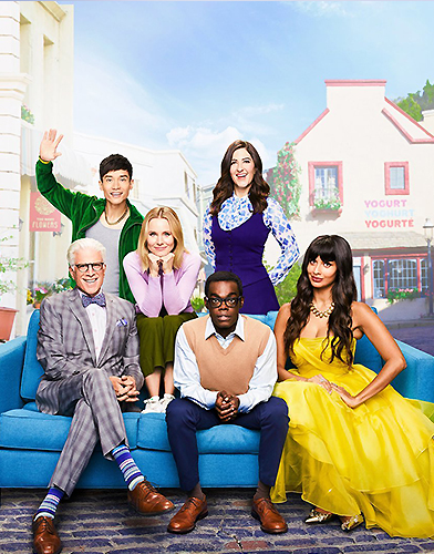 The Good Place Season 4 poster
