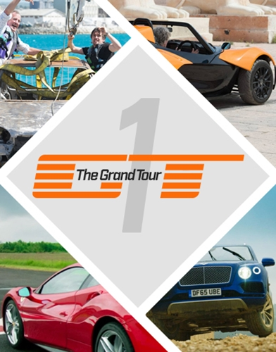 The Grand Tour season 1 poster