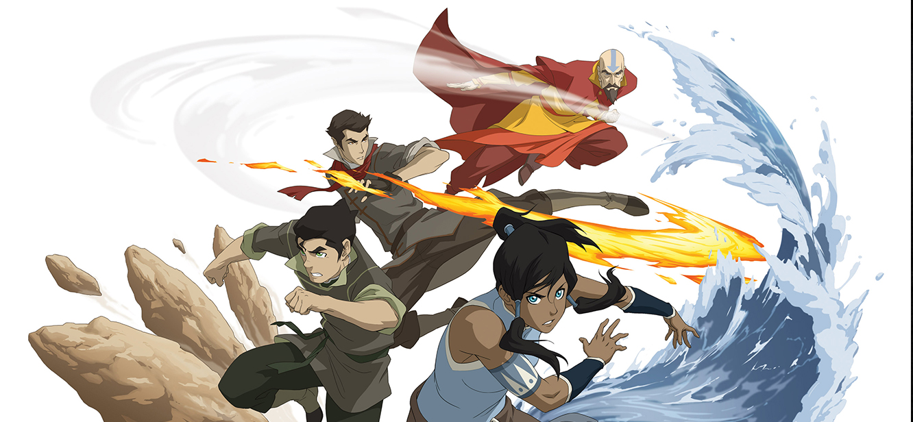 The Legend of Korra tv series poster