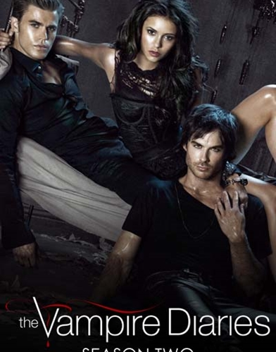 The Vampire Diaries season 2 poster