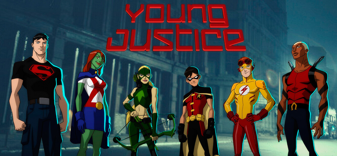 Young Justice Season 1 tv series Poster