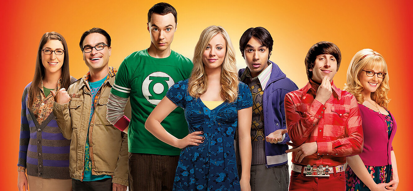 The big bang theory tv series poster