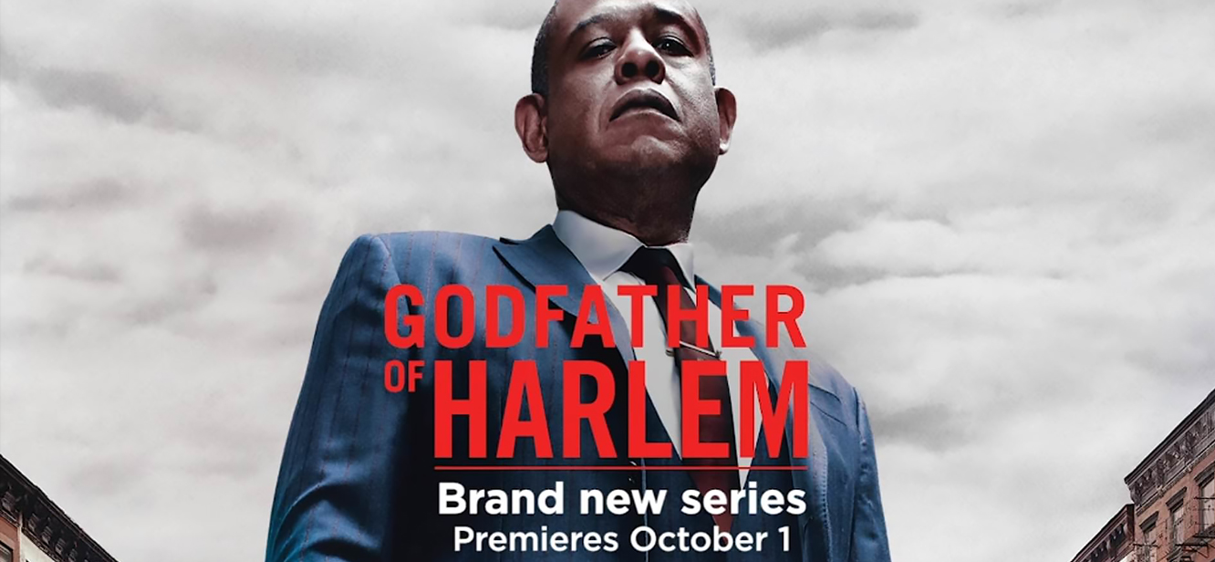 Godfather of Harlem Season 1 tv series Poster