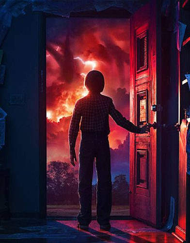 Sstranger things tv series poster