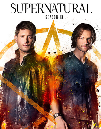 Supernatural Season 13 Poster