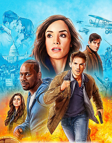 TV Show Timeless Season 2  Today's TV Series  Direct Download Links